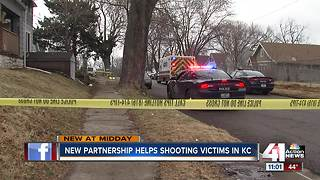New partnership will help shooting victims in KC