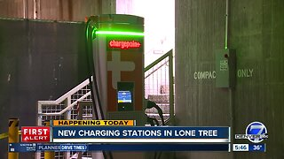 Lone Tree opening new charging stations