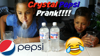 Crystal Pepsi Prank!! With Madi and Zach - Video