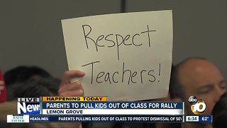Parents to rally against Lemon Grove district's decision-making