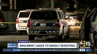 Argument leads to deadly shooting in Phoenix overnight
