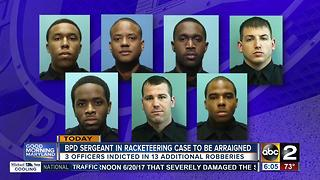 BPD sergeant in racketeering case to be arraigned - Video