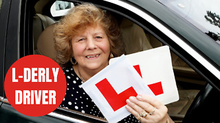 Great gran passes her driving test age 75
