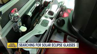 Still on the hunt for solar eclipse glasses? You'll want to read this - Video