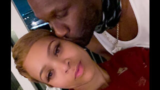 Lamar Odom and Sabrina Parr celebrate one-year engagement anniversary after break up