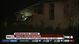 Ongoing death investigation in Fort Myers - Video