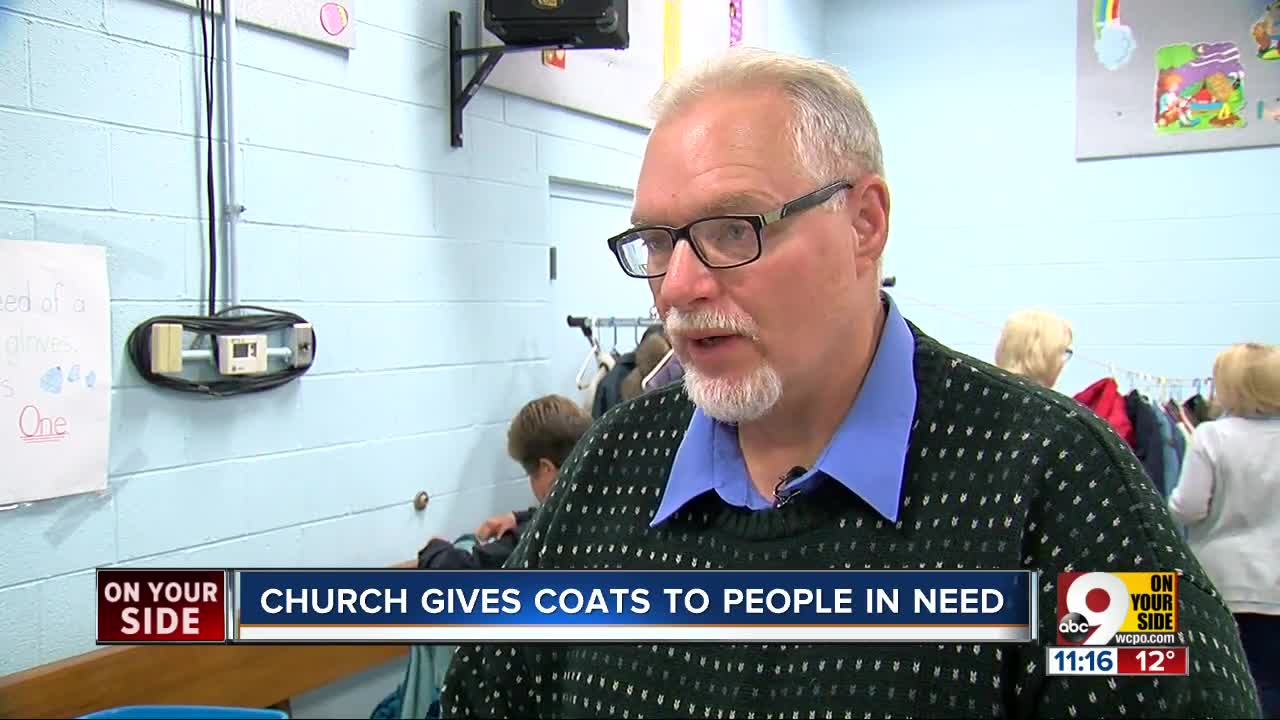 North College Hill church coat drive warms hearts as well as bodies