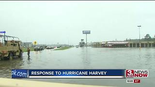 Former Nebraskans in path of Harvey - Video
