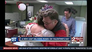 One of a kind Valentine's Day delivery - Video