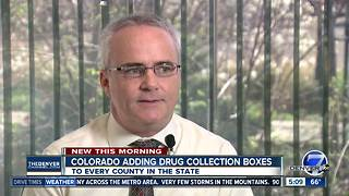 Colorado adding drug collection boxes - Video
