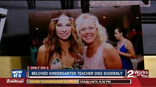 Beloved kindergarten teacher dies suddenly - Video