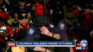 Colorado Task Force One heading to Florida for Hurricane Irma - Video