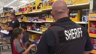 Canyon County police buy back to school supplies for more than 40 kids