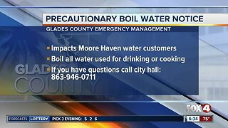 Boil water notice issued in Hendry County