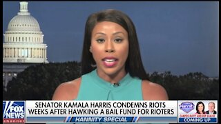 Kamala Harris bailed out Black Lives Matter and Antifa thugs