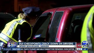 DUI checkpoint cracks down on drivers over Fourth of July - Video