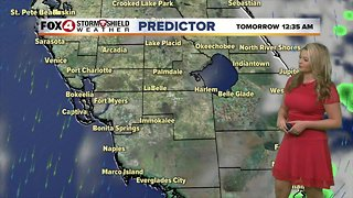 FORECAST: Cooler & less humid Wednesday