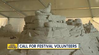 Volunteers needed for Sugar Sand Festival in Clearwater