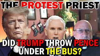 Did TRUMP Throw PENCE Under The Bus?   Fr. Imbarrato Live - Jan. 8, 2021