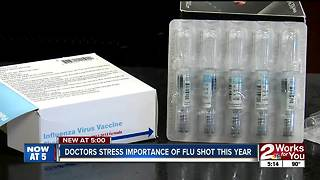 Doctors stress importance of flu shot this year