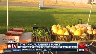Kern County Young Farmers and Ranchers host charity farmer's market - Video