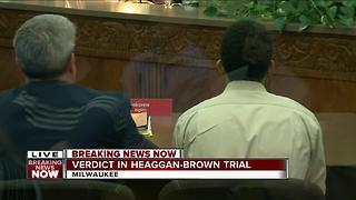 Jury finds Dominique Heaggan-Brown not guilty in suspect shooting.