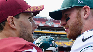 Redskins & Eagles Fans Throw Down - Video