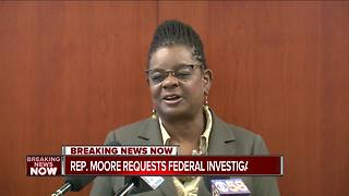 Rep. Gwen Moore calls for investigation of Health Department after lead snafu - Video