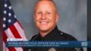 Peoria motorcycle officer dies in crash