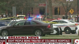 'Disbelief' as Ohio State University reports active shooter on campus