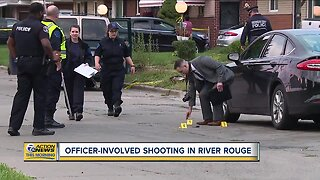Officer involved shooting in River Rouge