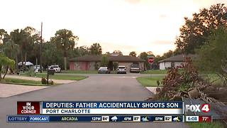Father accidentally shoots, kills son while cleaning gun - Video