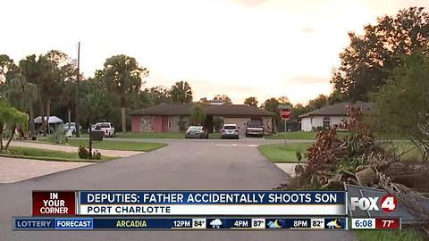 Father accidentally shoots, kills son while cleaning gun