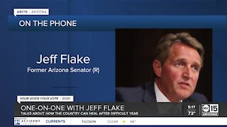Former Senator Flake talks how country can heal after difficult year