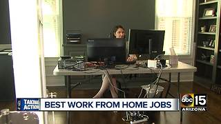 A Round-up of the best work from home jobs - Video