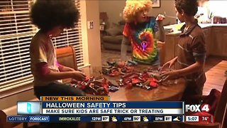 Halloween safety tips for parents and kids while trick or treating