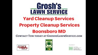 Yard Cleanup Services Funkstown MD Landscaping Contractor