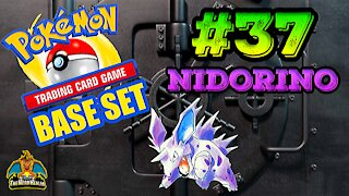 Pokemon Base Set #37 Nidorino | Card Vault