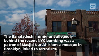 Nyc Bomber Attended Terror-linked Mosque - Video