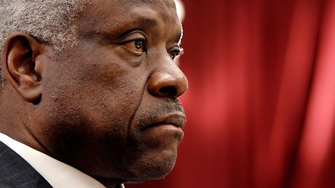 Clarence Thomas Breaks Yearslong Silence At Supreme Court