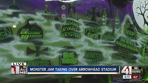 Monster Jam takes over Arrowhead
