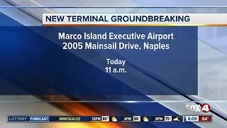 New terminal groundbreaking - Video