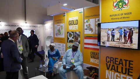 SOUTH AFRICA - Cape Town - African Mining Indaba :Niger's Ministry of Mines Chief of Staff speaking about mining in his country (Video). (W4W)