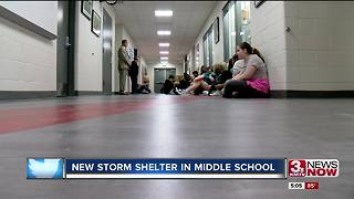 Beveridge Magnet Middle School storm shelter - Video