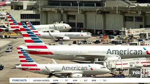 Airlines furlough workers