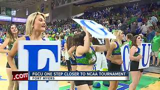 FGCU one step closer to NCAA Tournament - Video