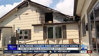 Shopping center fire damages 13 businesses