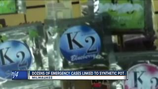 27 bleeding cases reported in Milwaukee from synthetic marijuana - Video