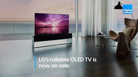 LG rollable OLED is now on sale!