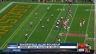 College Football: Bakersfield Alum Roundup